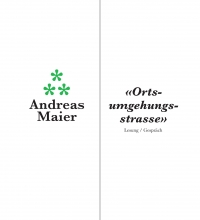 Evening Talks on Landscape: Andreas Maier - Ortsumgehungsstrasse