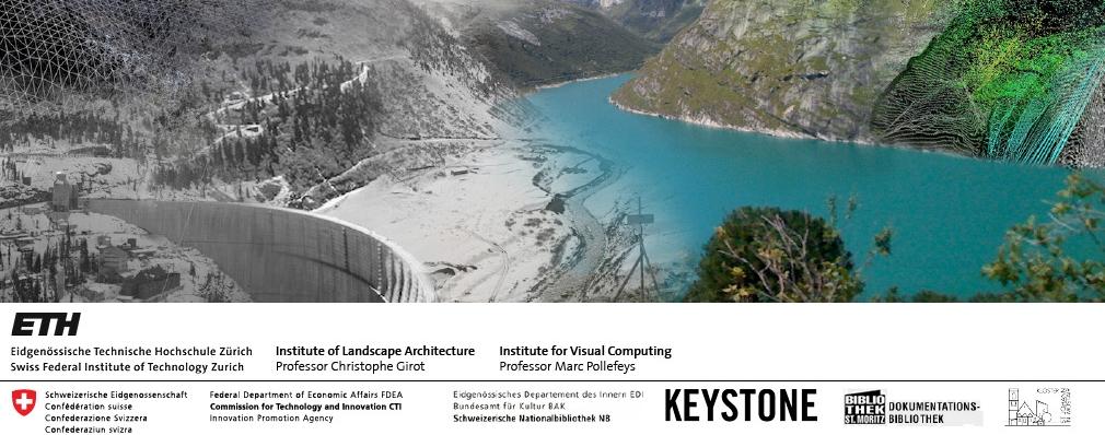 Topology 3D Laser Scanning LIDAR Pointcloud LVML D-ARCH NSL ILA Chair of Landscape Architecture, Professor GIROT ETH Zurich