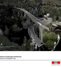 Gotthard Project – Point Cloud of Gotthard Tunnel south entry in Airolo