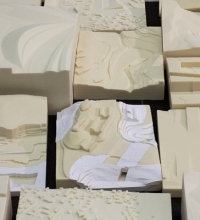 Image of milled models from the MAS LA year 2010/2011