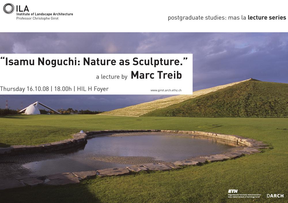 Isamo Naguchi-Marc Treib-Landscape Architecture-ETH Zürich-Prof. Girot