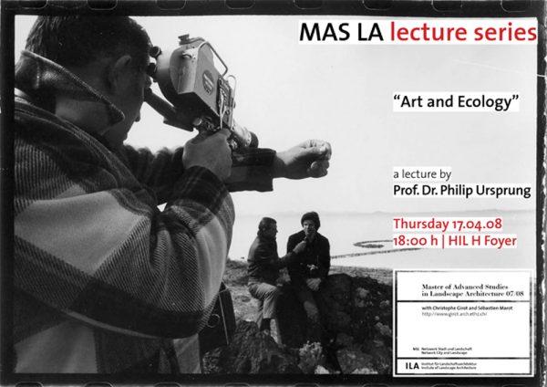 Art and ecology-Philip Ursprung-Landscape Architecture-ETH Zürich-Prof. Girot