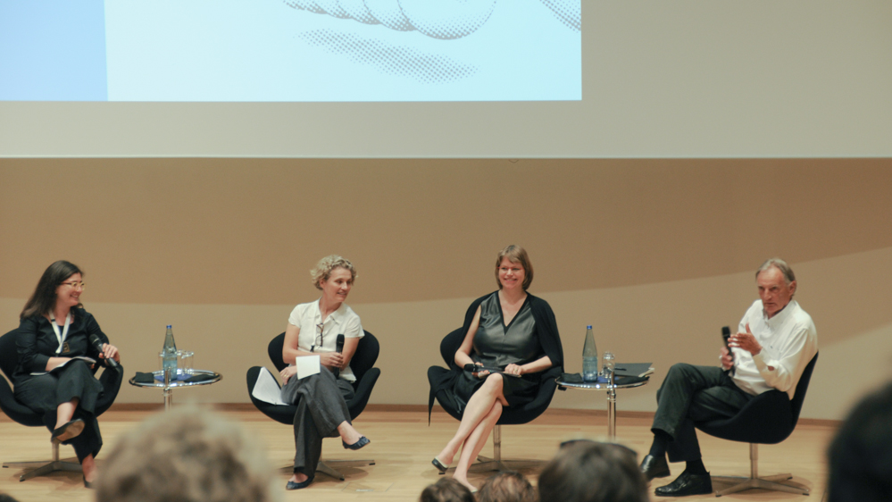 "Conference ""Thinking the Contemporary Landscape – Positions & Oppositions"", Hanover, Germany, 20-22 June 2013: Bianca Maria Rinaldi,  Dorothée Imbert, Anette Freytag and Georges Descombes"