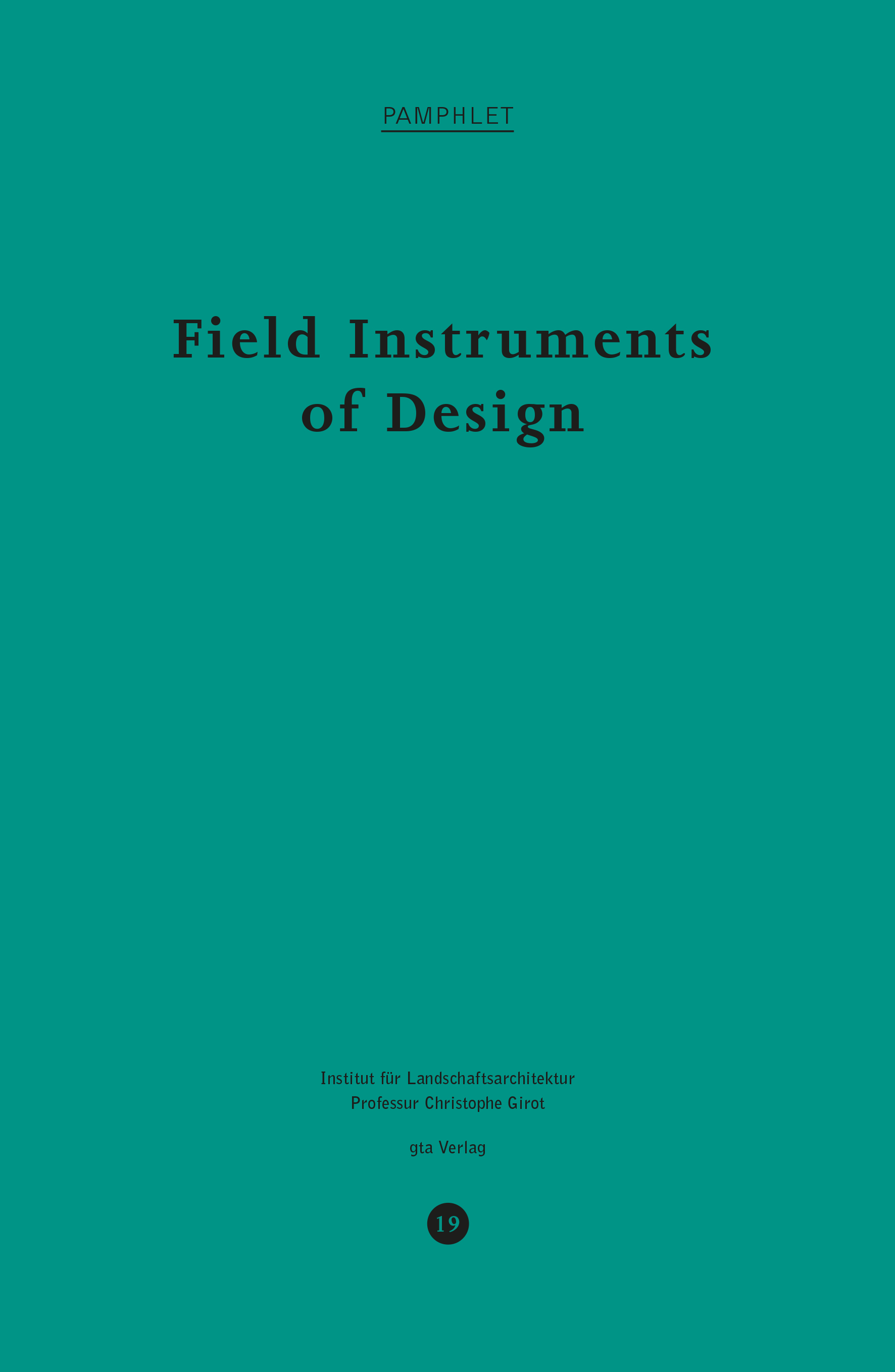 field instruments of design