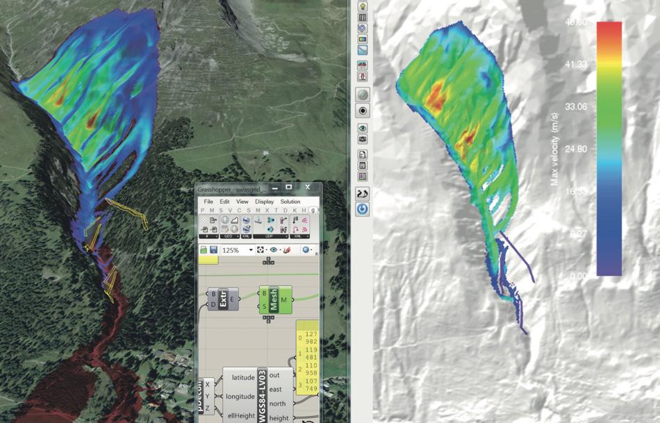 Avalanche Simulation