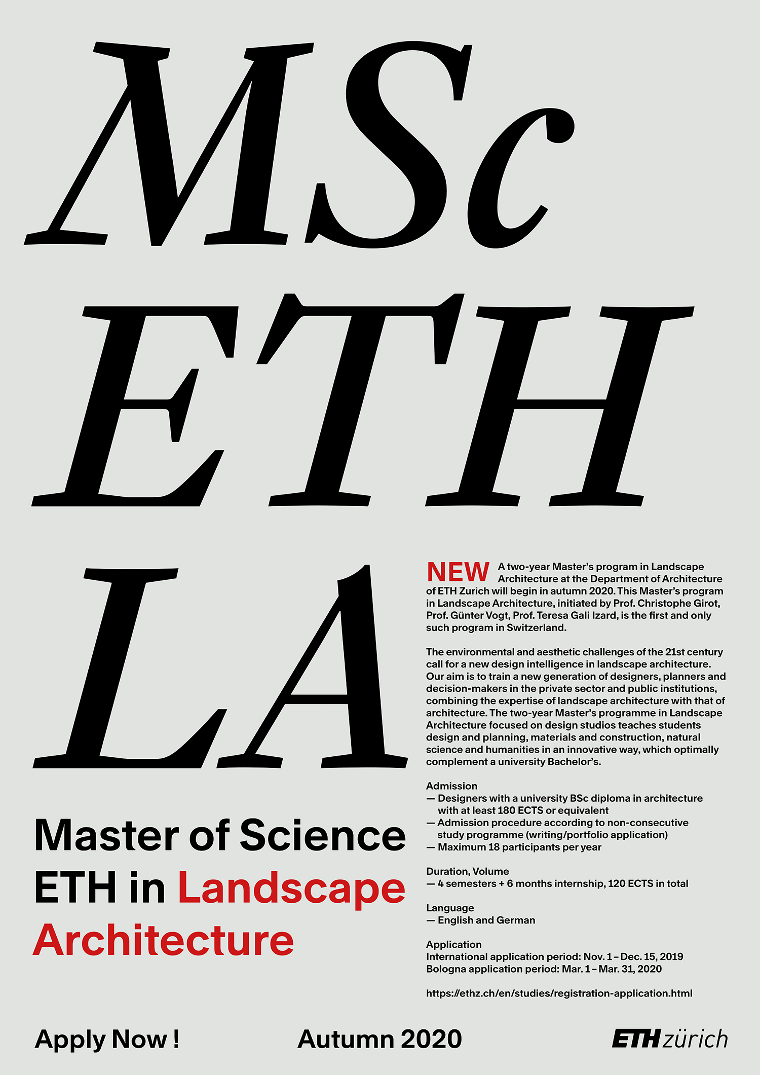 Eth medal master thesis